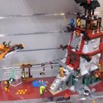 Lego Ninjago the Lighthouse Siege Setup