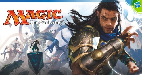 Magic The Gathering Hasbro 2016 Toy Fair Banner