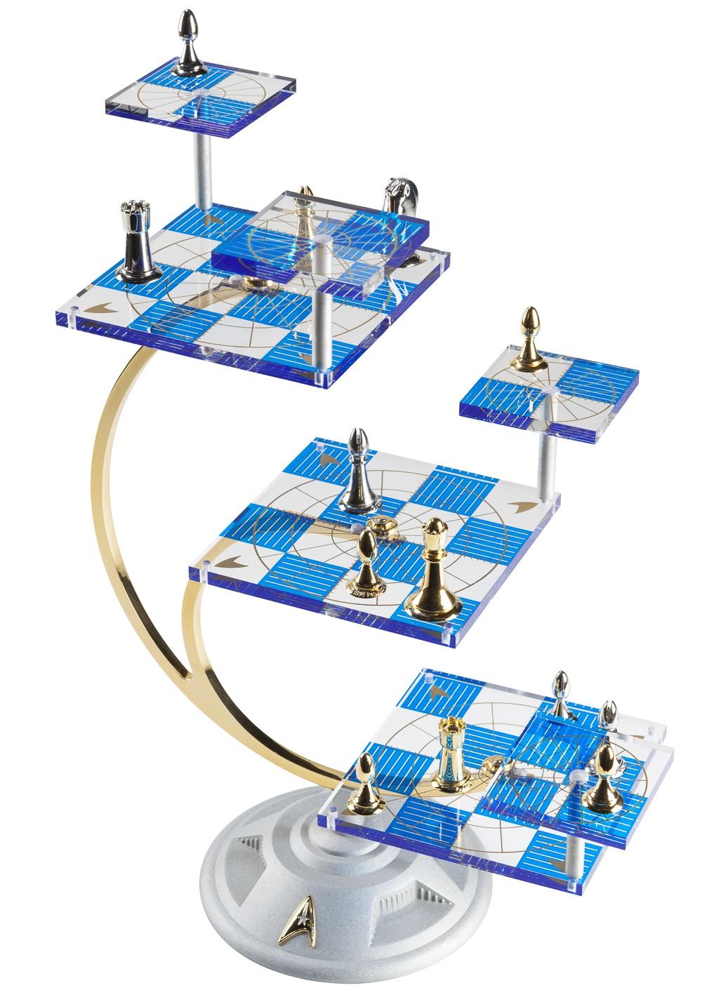 Star Trek 50th Anniversary Tridimensional Chess Set Purple Pawn