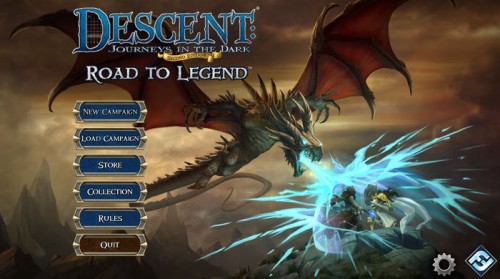 Descent Road to Legend