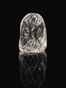 Fatamid Rock Crystal Chess Piece
