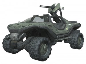 Halo Ground Command vehicle