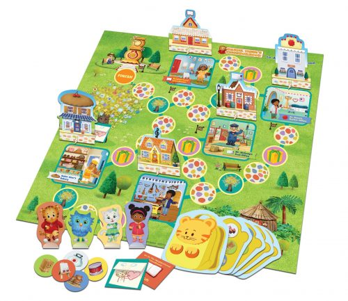 Daniel Tiger's Neighborhood Welcome to Main Street Game setup