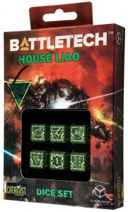BattleTech Dice House Liao