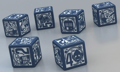 Doctor Who RPG Dice