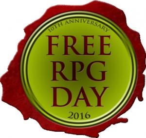 Free RPG Day 2016