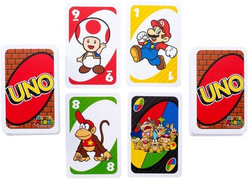 Super Mario Uno cards