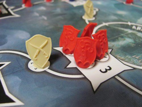 Tyrants of the Underdark Board Closeup