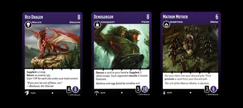 Tyrants of the Underdark Cards