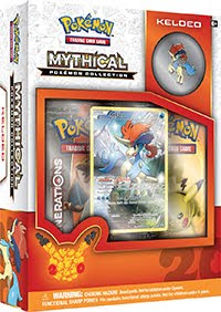 Pokémon TCG: Mythical Pokémon Collection: Keldeo